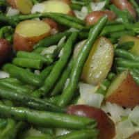 Green Beans and Fingerling Potatoes
