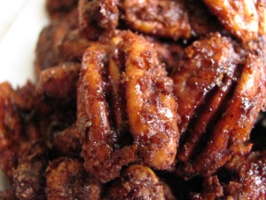 Sugar & Spice Roasted Pecans