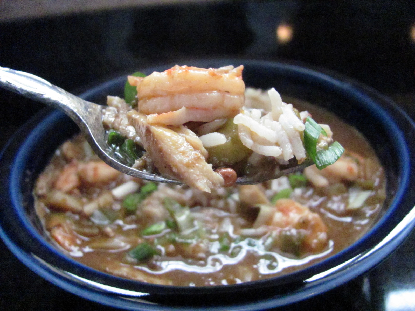 New orleans seafood gumbo louannes kitchen new orleans seafood gumbo forumfinder Images